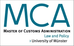 the master of customs administration mca is a postgraduate course offered by the university of mnster which takes place each year - Uni Mnster Master Bewerbung